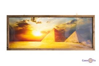Настенный инфракрасный электрический обогреватель-картина VIP Египет Трио