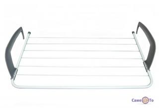 Складна сушарка для білизни та одягу на батарею, підвісна (68х38 см)
