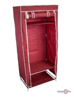 Портативна тканинна шафа для одягу, (1 секція)