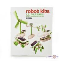 Конструктор на сонячній батареї Robot Kits 6 в 1