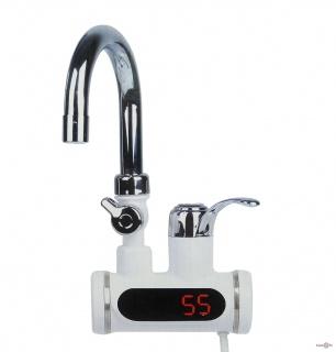 Проточный водонагреватель с душем ,проточный, электрический 3000 W
