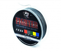 Плетеный шнур рыболовный Fighter Fishing Line (нить плетенка)