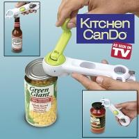 Консервный нож Kitchen CanDo 8 в 1 - универсальная открывалка