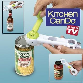 Консервний ніж Kitchen CanDo 8 в 1 - універсальна відкривачка