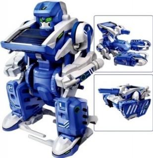 Робот конструктор на солнечной батарее Robot Solar 3 в 1