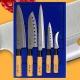 Набор кухонных ножей GOLDSUN F105A (5 предметов)