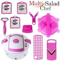 Овочерізка Multi Salad Chef (Мульти Салад Чіф) 13 предметів