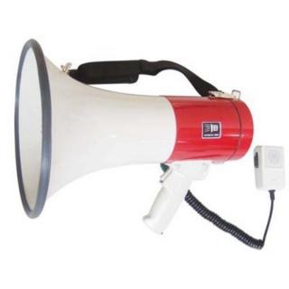 Мегафон рупор SD-10SH з мікрофоном і сиреною