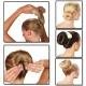 Валики для волосся Hot Buns Хот Банс - для об'ємних зачісок