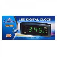 Електронний настільний годинник Caixing CX 818