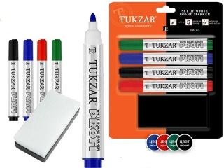 Набір маркерів для Led-дошки і скла (4 шт.)