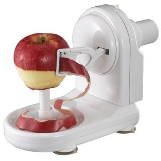 Пристрій для очистки шкірки - яблукоочищувач «Серпантин»