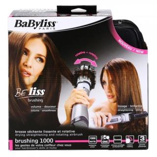Фен с вращающейся щеткой Babyliss Paris Brushing 1000