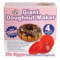 Форма для випічки гігантських пончиків Giant doughnut maker