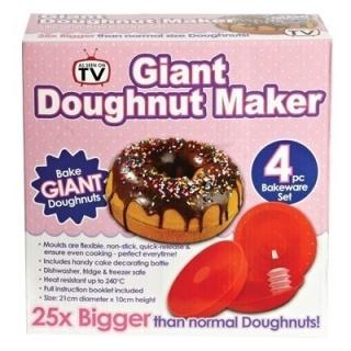 Форма для выпечки гигантских пончиков Giant doughnut maker