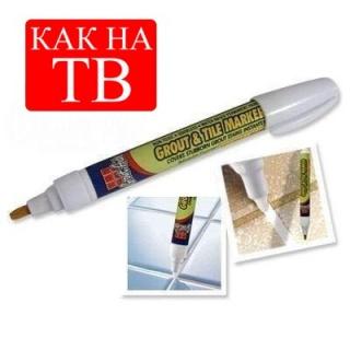 Затирка для швів - олівець Grout & Tile Marker (біла)