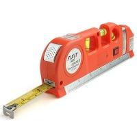 Лазерный уровень - рулетка Laser level pro 3 (рулетка 2,5 метра)