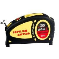Лазерный уровень + рулетка LASER LEVEL PRO 5м