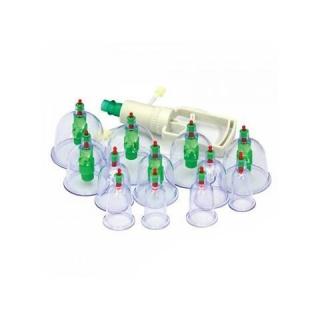 Вакуумные банки для массажа, набор 12 шт. с магнитами