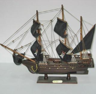Модель піратського парусника
