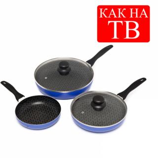 Набір сковорідок Spider pan (Спайдер Пен)