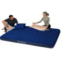 Матрац Intex 152х203х22 см з насосом і подушками (68765)
