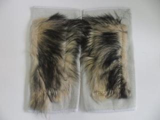Наколінник з собачої шерсті 14 х 29 см (2шт)