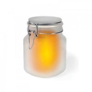 лампа ночник Sun Jar солнце в банке на солнечной батарее
