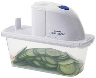 Электрическая овощерезка One Touch Deluxe Vegetable Slicer
