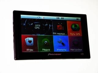 Автомобильный GPS навигатор Pioneer 7'' X102-7005