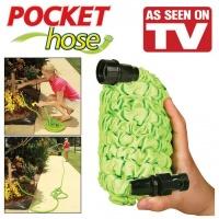 Шланг гармошка Pocket Hose 22.5 м. гофрований