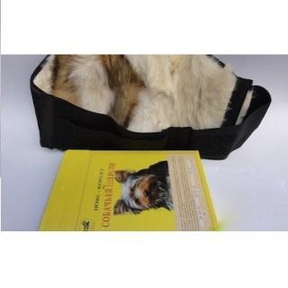 Пояс из собачьей шерсти - ширина 15-24 см.