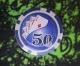 Покерный набор 100 фишек, кейс - метал