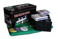 Покерний набір 200 фішок в металевій коробці