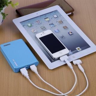 Портативное зарядное устройство с USB Power Bank mini 1200mAh