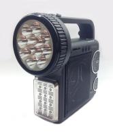 Радіоприймач з ліхтариком акумуляторний KEMAI MD-2811U