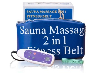 Пояс-сауна для схуднення Sauna Massage 2 in 1 Fitness Belt