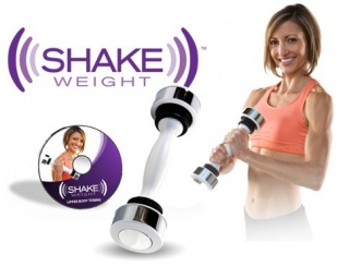 Тренажер для рук і грудей Shake Weight (Шейк Вейт)