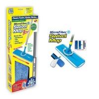 Швабра з мікрофіброю Microfiber Swivel Mop