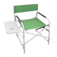 Крісло для риболовлі та відпочинку з відкидним столиком
