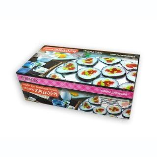 Набор для приготовления роллов и суши 5 в 1 Мидори