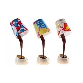 Настольная лампа - светильник «Горячий шоколад»