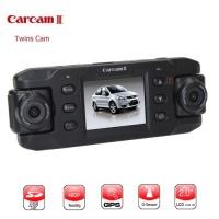 Двокамерний автомобільний відеореєстратор Carcam III з GPS