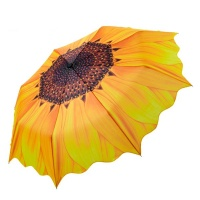 Оригинальный зонт «Подсолнух» от дождя и солнца