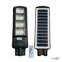 Ліхтар з датчиком руху Cobra solar street light R4 4VPP (пульт) 500W