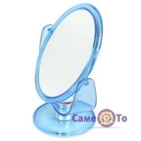 Кругле настільне косметичне дзеркало для макіяжу Cosmetic Mirror 14.5 см