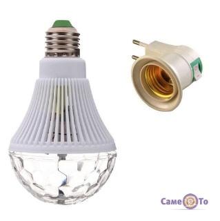 Вращающаяся светодиодная диско-лампа Big Rotating Lamp