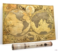 Скретч карта світу для відміток подорожей My Map Special Edition ENG
