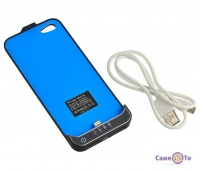 Чохол-акумулятор з додатковою батареєю для IPhone 5