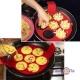Силіконова форма для випічки оладок і яєчні